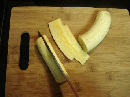 plantain sliced