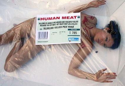 Peta - Human Meat