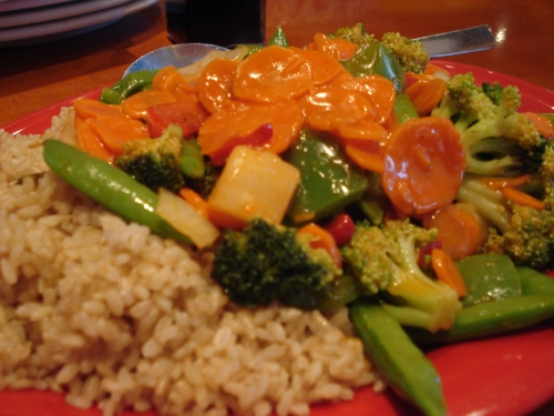 Pei Wei - Sweet & Sour Vegetables Soy Free